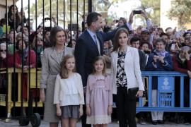 Los Reyes asistirán a la Misa de Pascua en Palma