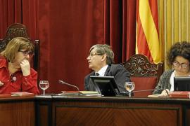 El Parlament suspende su actividad y no la reanudará hasta el jueves