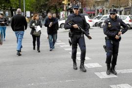 Más presencia policial en Palma
