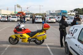 Primera jornada de paros en el sector del taxi