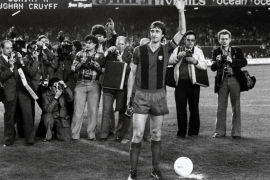 Consternación en el mundo del fútbol por la pérdida de Cruyff