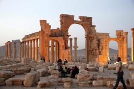 El ejército sirio recupera la antigua ciudadela de Palmira