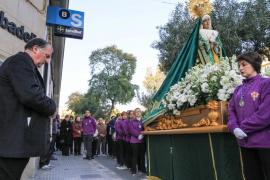 Procesión de la Virgen de la Esperanza