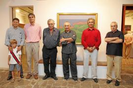 Andreu Maimó presenta en Can Prunera la relación de la tierra con su arte