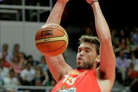 Marc Gasol lideró a España hacia la victoria