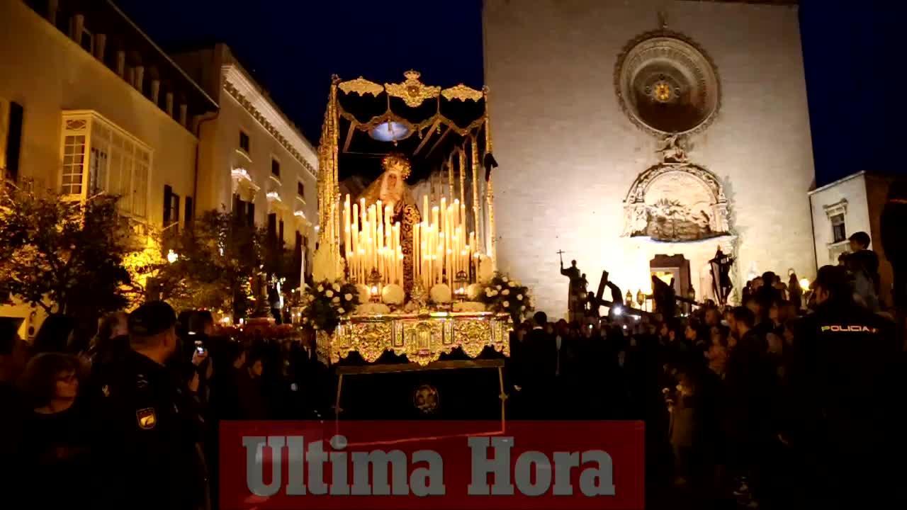 El Sant Enterrament pone fin a las procesiones de Palma