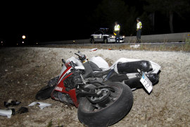 La muerte del motorista de la carretera de Cap Blanc se debió a una distracción del conductor