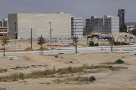 Fase final de la reurbanización de la fachada marítima