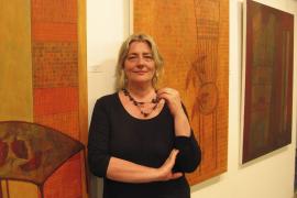 Susanna Bouzas regresa a la isla que desató su imaginación como pintora