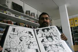 Paco Díaz y Natasha Bustos, de Balears a la meca de los superhéroes