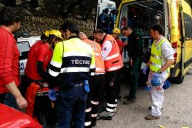 Una mujer de 39 años, en estado crítico al sufrir un accidente mientras escalaba en Valldemossa