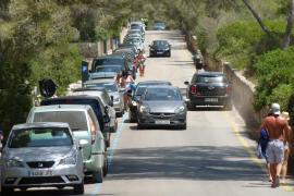 El Govern prevé un máximo de 1.500 plazas de aparcamiento en el parque natural de es Trenc