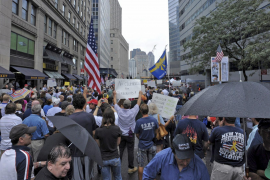 La polémica sobre la mezquita llega a las calles de Nueva York