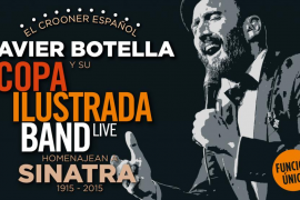 Javier Botella homenajea a Sinatra en el Blue Jazz Club