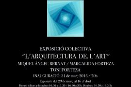 Artmallorca acoge la colectiva 'L'arquitectura de l'art'