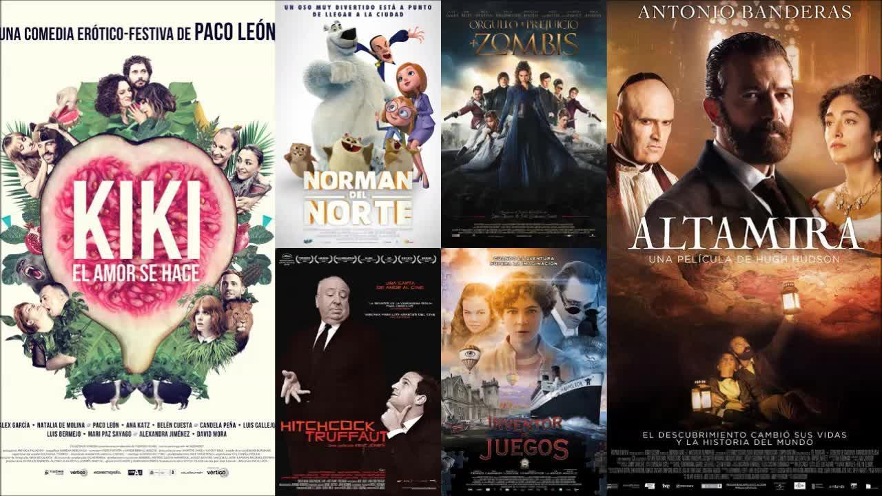 Antonio Banderas y Paco León lideran los estrenos de la cartelera de cine