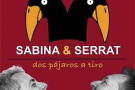 'Dos pájaros a tiro', homenaje a Sabina y Serrat en Acudia