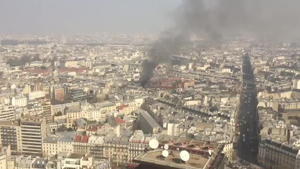 Registrada una fuerte explosión en París