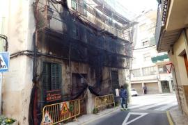 El propietario de una casa ruinosa en Sóller se enfrenta a tres multas cada mes