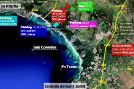 Campos expropiará con carácter urgente los terrenos del párking de ses Covetes