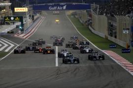 Rosberg también gana en Baréin
