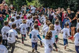 Medio millar de niños participan en la V Ultra Kids Serra de Tramuntana