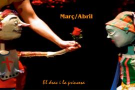 'El drac i la princesa' lleva la leyenda de Sant Jordi a Artà