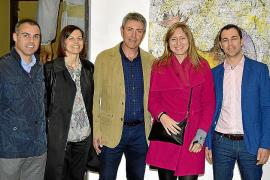 Isabela Lleó y Guillem Crespí, en Can Gelabert de Binissalem