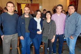 Homenaje a Joan Lluís Pons en Sóller