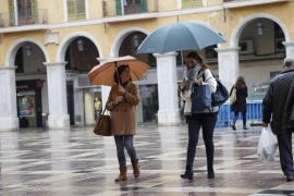 Vuelven las precipitaciones este martes a Balears