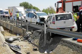 Dos niños de 13 y 6 años mueren en sendos accidentes de tráfico en Santanyí y Campos