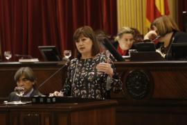 Francina va a exigir a Més una «solución seria» en Transparència i Cultura «o no firma»