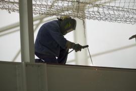 La siniestralidad laboral aumentó un 9,5 % en 2015 en Balears