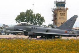 Se estrella un Eurofighter en la base de Morón y fallece un militar árabe