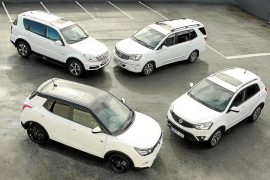 Gama SSANGYONG 4WD
