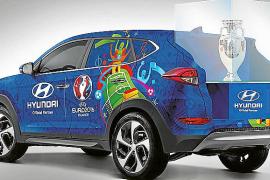 Hyundai transportará el trofeo de la UEFA Euro 2016