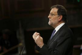 Rajoy a Iglesias: «Un poco de moderación. Aprenda de mí, que yo en eso soy muy bueno»