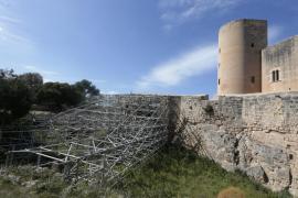 Denuncian el abandono y la degradación del Castell de Bellver