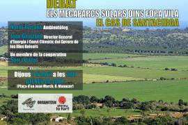 Debate en Manacor sobre el parque solar en Santacirga