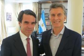 Aznar se reúne con Macri y ve su mandato como una oportunidad para Argentina