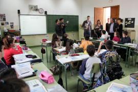 Armengol quiere que el CEIP Nou de  Campos sea una realidad esta legislatura