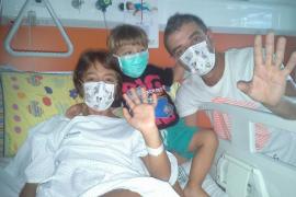 Solidaridad a favor de la pequeña Vanesa Ayala, enferma de leucemia