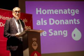 Homenaje del Banc de Sang a sus donantes pitiusos