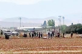 Muere un militar saudí al estrellarse un avión Eurofighter en la base de Morón