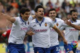 El Zaragoza supera 2-1 a un combativo Real Mallorca