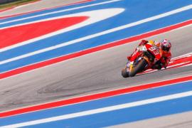 Márquez se impone a Lorenzo en el Gran Premio de las Américas