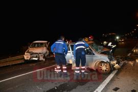 Herida grave en un choque entre un  todoterreno y un turismo en la carretera de Palma a Andratx