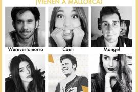 Los mejores youtubers visitan el Auditòrium de Palma en la Gala Play Awards
