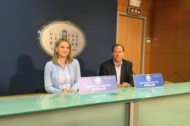Margalida Prohens y Juan Manuel Lafuente