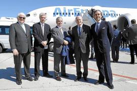 Air Europa presenta su primer Boeing 787